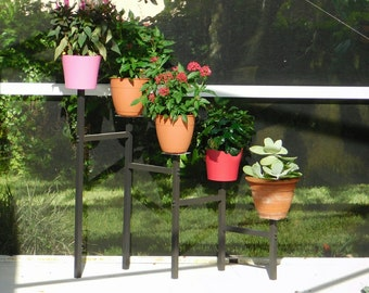 5 Tier Aluminum Staircase Outdoor Plant Stand