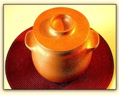 Clay Cookware, Ceramic Pot for cooking, 4 Qt., Micaceous Pottery