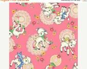 Dear Little World Bambino Lamb in Pink 1 yard  LW1909-13E