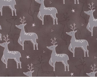 SALE JOL from Wenche Wolff Hatling for Moda Rudolf in Kakao 1 yard  YES!! Continuous fabric cuts and combined shipping
