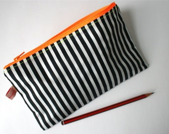 Zipper Pouch (with neon coloured zipper)