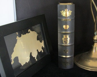 SWITZERLAND , Framed Art, Metal Outline of Countries - All Countries