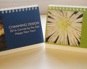 Carmel and Flowers 2016 Desktop Calendars