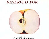 RESERVED for Cathleen