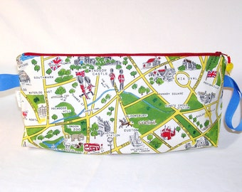 PREORDER London Map Anna Clutch