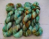 Aspen Sock yarn with nylon 'summer mist'