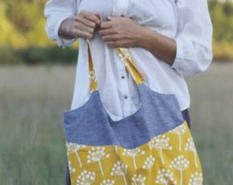 Go Anywhere Bag Sewing Pattern by Noodlehead