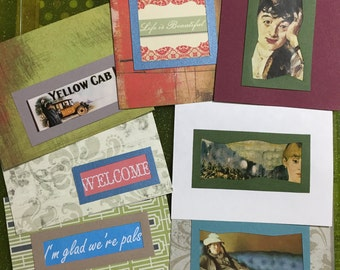 Medium Greeting Card Stack #25 - Fun and Funky Blank Mix Cards