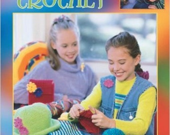 Teach Me to Crochet Book 14 Projects Paperback