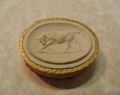 Antique Grand tour Cameo Plaster From the 1800's