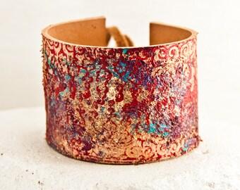 Nature - Original Jewelry  - OOAK Bracelets - Creative Jewellery - Cuff Wristband - Gypsy Hippie Boho Trends Finds