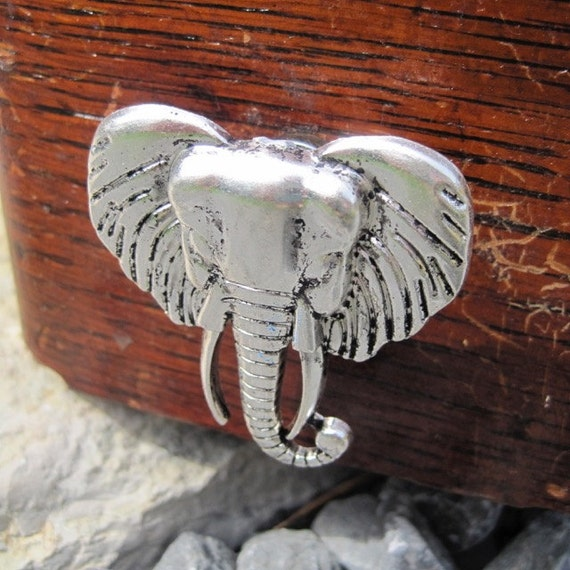 Elephant Drawer knobs - cabinet knobs - furniture knobs (MK102S)