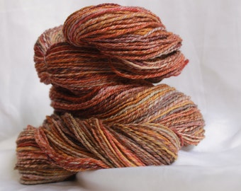Hand spun Super fine merino light worsted/sport weight 332 yards