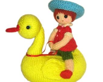 Riding Goose Pdf Email Knit PATTERN