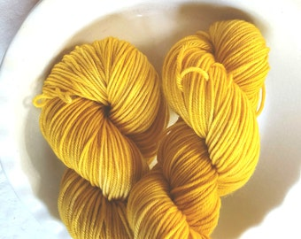 With a Twist -- Decadent -- Hand Painted Superwash DK Merino Wool Yarn