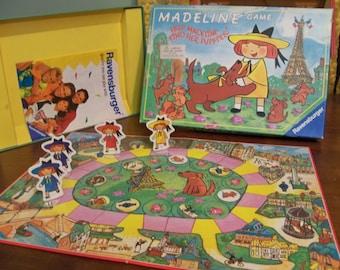 1992 MADELINE board game