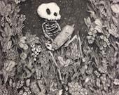 print until death copper etching