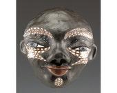 Ceramic Wall Mask - Milton