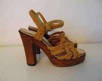 70s Quali-Craft ROPE PLATFORMS size 7