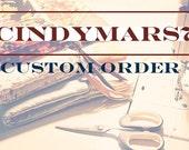 Custom order for tealwilson--