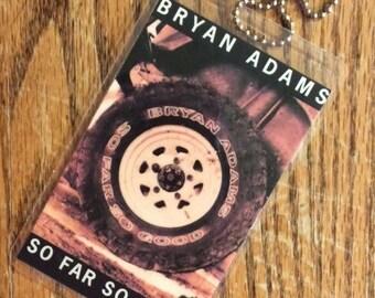 Bryan Adams Cassette Tag