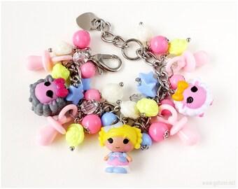 Lalaloopsy Jewelry Set, Little Girl Gifts, Childrens Jewelry, Doll Jewelry Set, Lalaloopsy Tinies, Fairy Kei, Harajuku Fashion, Convertible