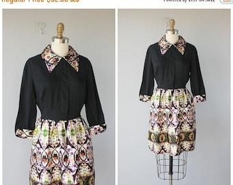 25% OFF SALE... 60s Dress | 1960s Dress | Collared Dress | Mod Dress | 60s Party Dress