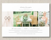 Mini Session Template - Holiday Photography Templates - Photographer Branding Design - Mini Session Flyer - m0232