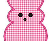 Easter Bunny Machine Embroidery Applique