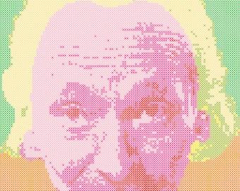 The First Doctor Cross Stitch Pattern PDF