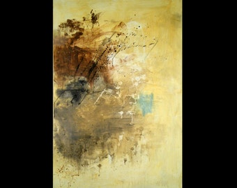 Abstract Large Canvas Acrylic Painting - Sense