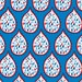 Blend Fabrics - True Blue Collection - Droplets in Blue