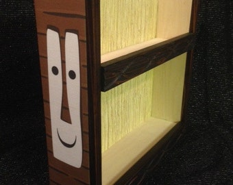 tiki mug display shelf tiki bob  graphic