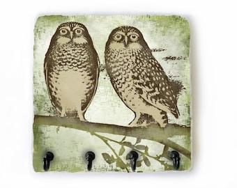 Owl Key Hook, Owl Wall Decor, Owl Key Holder for Wall, Key Hanger, Hooks for Keys, Decorative Hooks, Jewelry Hooks  (73)