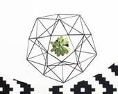 SERO | Modern Wreath | Geometric Wreath | Air Plant Hanger | Himmeli