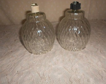 Votive s Clear set of 2