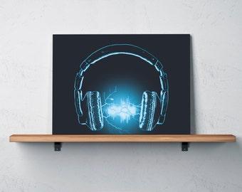 Electri-City Art Print