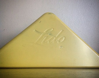 Vintage Metal LIDO Corner Signs for Display.