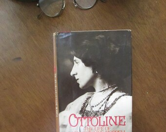 Ottoline - The Life of Lady Ottoline Morrell Vintage Book by Sandra Jobson Darroch - Vintage Book -  Illustrated Biography