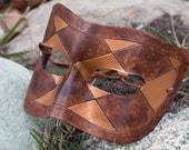 Masquerade Leather Mask