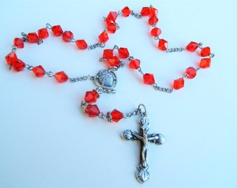 Sacred Heart of Jesus Prayer Chaplet Rosary