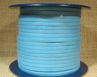 3mm Premier Flat Leather - Pale Blue - #47 - Choose Your Length