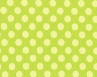1/2 yard - Ta dot in Apple, Michael Miller Fabrics
