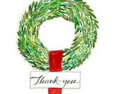 Boxwood wreath Thank-you