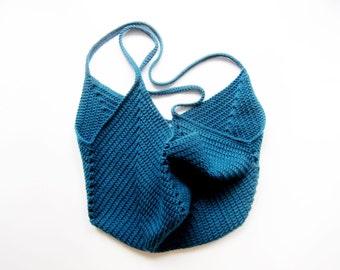 Crochet Tote Bag / Market Bag / Beach Bag / Grocery Bag - Crochet Granny Tote Bag
