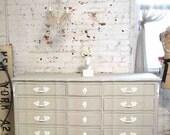 PORTFOLIO Painted Cottage Chic Shabby French Dresser DR832