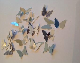 125 pc Beautiful Paper  butterflies  reception Bridal Shower Wedding