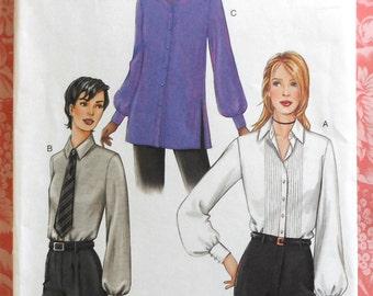 Blouse Sewing Pattern UNCUT Vogue 7613 Sizes 8-12