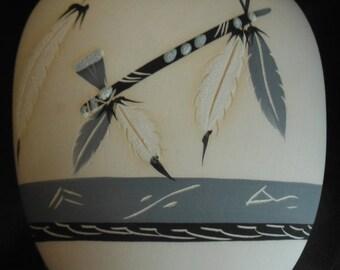 Gorg American Indian Vase--Hard Find