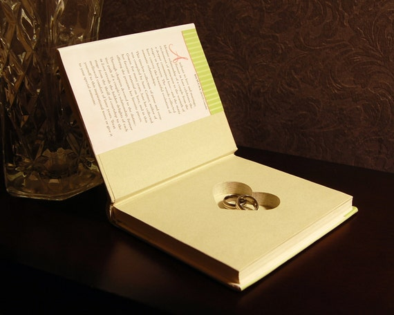 Hollow Book Safe with Heart (Forever in Love)
